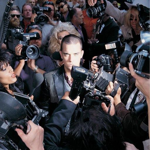 Robbie Williams альбом Life Thru A Lens