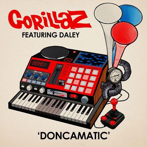 Gorillaz альбом Doncamatic (feat. Daley)