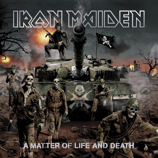 Iron Maiden альбом A Matter Of Life And Death
