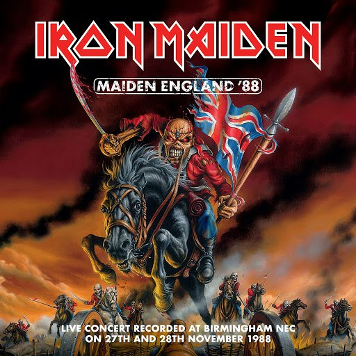 Iron Maiden альбом Maiden England '88 (2013 Remastered Edition)