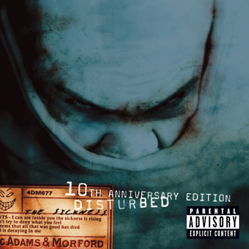 Disturbed альбом The Sickness (10th Anniversary Edition)
