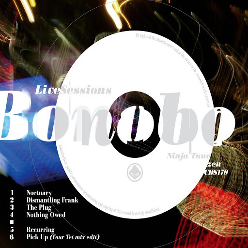 Bonobo альбом Recurring - The Live Sessions EP