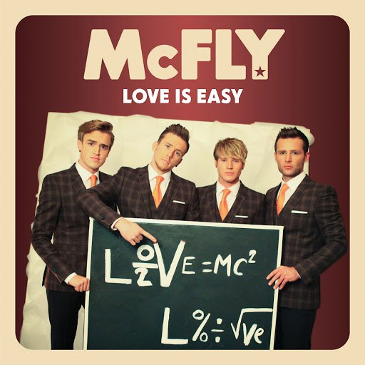 McFly альбом Love Is Easy