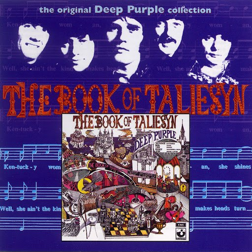 Deep Purple альбом The Book Of Taliesyn