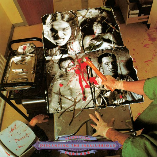 Carcass альбом Necroticism - Descanting the Insalubrious