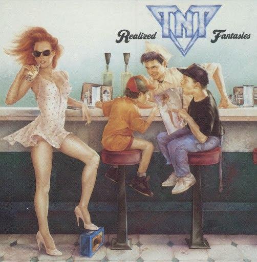 TNT альбом Realized Fantasies