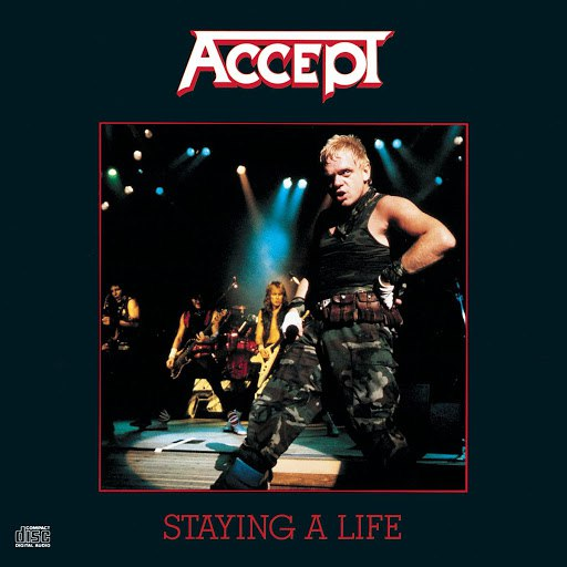 Accept альбом Staying A Life