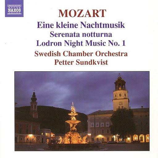 Wolfgang Amadeus Mozart альбом Eine Kleine Nachtmusik/Serenata Notturna/Lodron Night Music No.1
