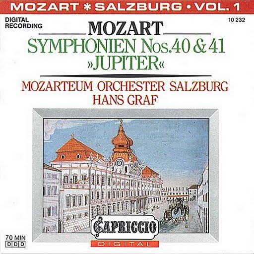 "Wolfgang Amadeus Mozart альбом Mozart: Symphonien Nos. 40 & 41, ""Jupiter"""