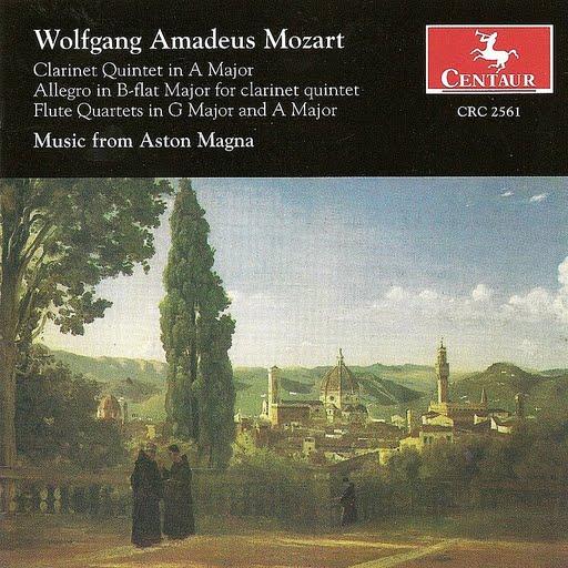 Wolfgang Amadeus Mozart альбом Mozart, W.A.: Clarinet Quintet, K. 581, K. Anh. 91 / Flute Quartets Nos. 2 And 4