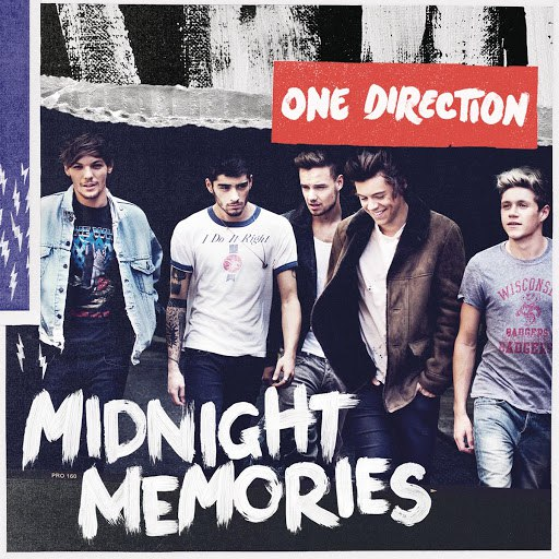 One Direction альбом Midnight Memories