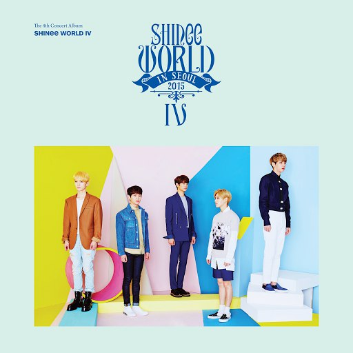 SHINee альбом SHINee WORLD IV – The 4th Concert Album