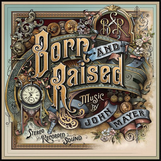 John Mayer альбом Born And Raised
