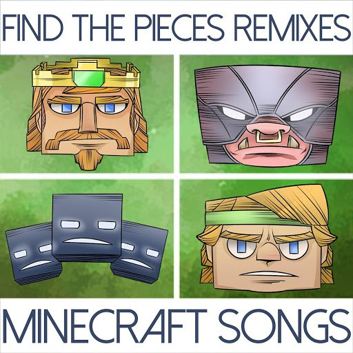 TryHardNinja альбом Find the Pieces Remixes (Minecraft Songs)