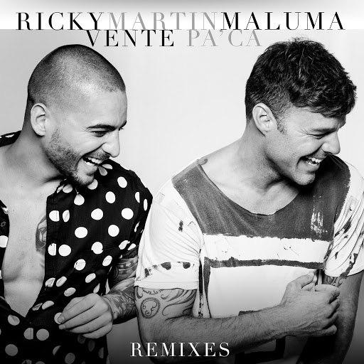 Ricky Martin альбом Vente Pa' Ca (Remixes)