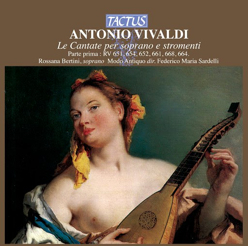 Antonio Vivaldi альбом Vivaldi: Le Cantate per soprano e stromenti