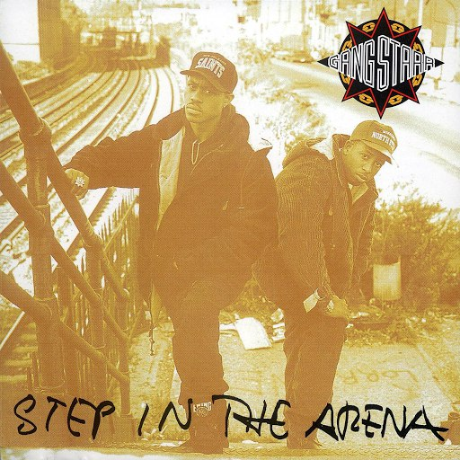 Альбом Gang Starr Step In The Arena