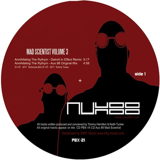 Aux 88 альбом Aux 88 Mad Scientist Volume 3
