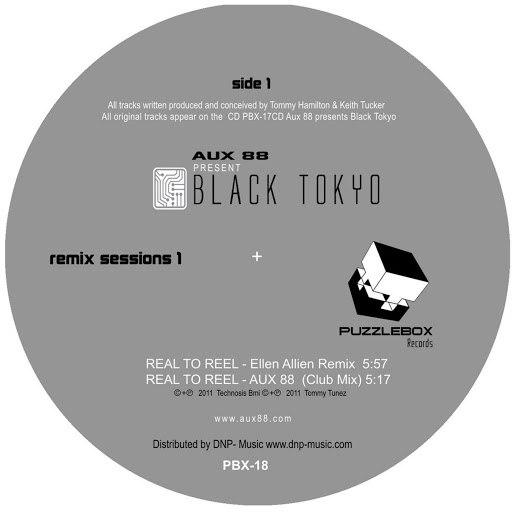 Aux 88 альбом Aux 88 Presents Black Tokyo Remix Sessions 1