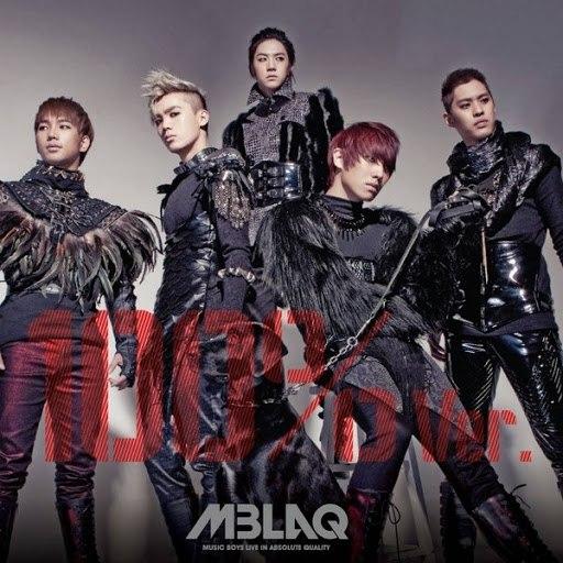 MBLAQ альбом MBLAQ 4th Mini Album `100%Ver.`