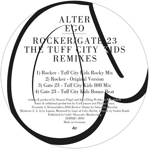 Alter Ego альбом Rocker / Gate 23 (The Tuff City Kids Remixes)