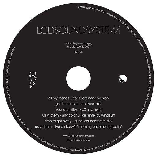 LCD Soundsystem альбом A Bunch Of Stuff EP