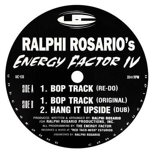 ralphi rosario альбом Energy Factor IV