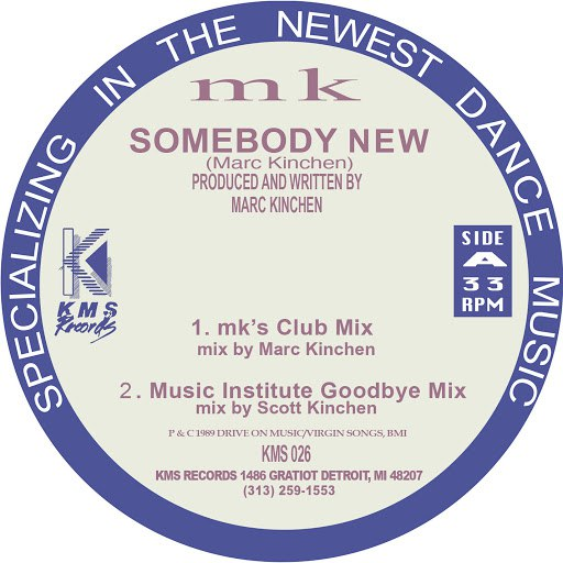 MK альбом Someone New