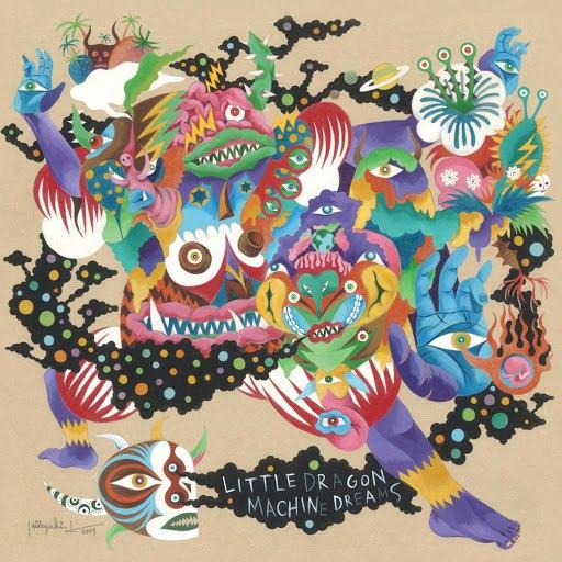 Little Dragon альбом Machine Dreams