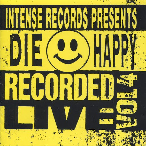 Die Happy альбом Intense Live Series Vol. 4