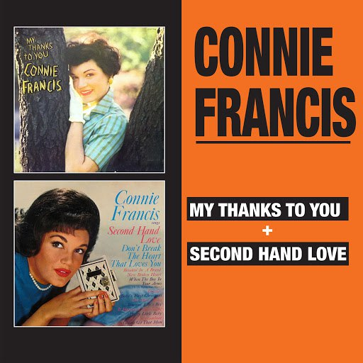 Connie Francis альбом My Thanks to You + Second Hand Love