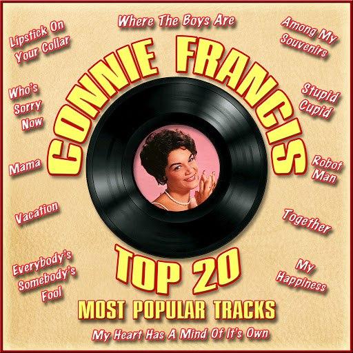 Connie Francis альбом Top 20 Most Popular Tracks