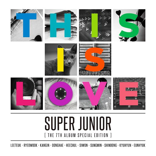 Super Junior альбом The 7th Album Special Edition `THIS IS LOVE`