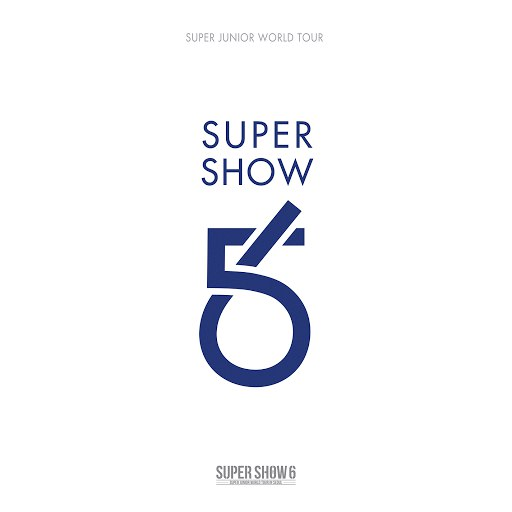 Super Junior альбом SUPER SHOW 6 - SUPER JUNIOR The 6th WORLD TOUR