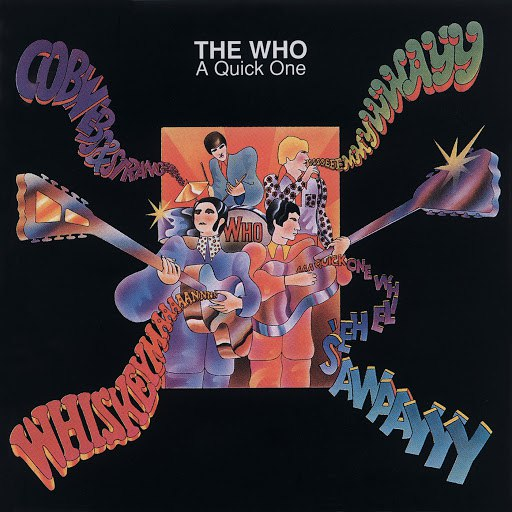 The Who альбом A Quick One (Remastered)