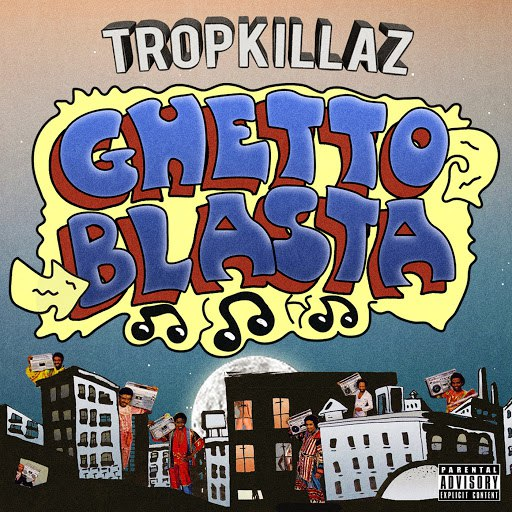 Tropkillaz альбом Guetto Blasta