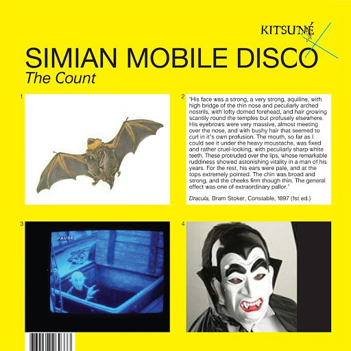 Simian Mobile Disco альбом Kitsuné: The Count