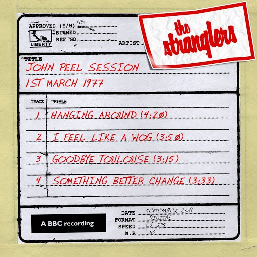 The Stranglers альбом John Peel Session [1 March 1977]