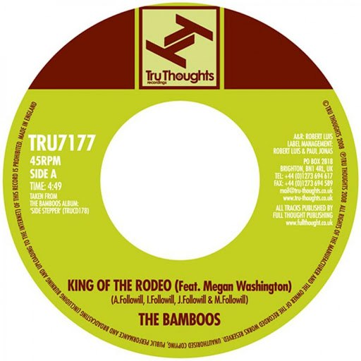 The Bamboos альбом King of the Rodeo