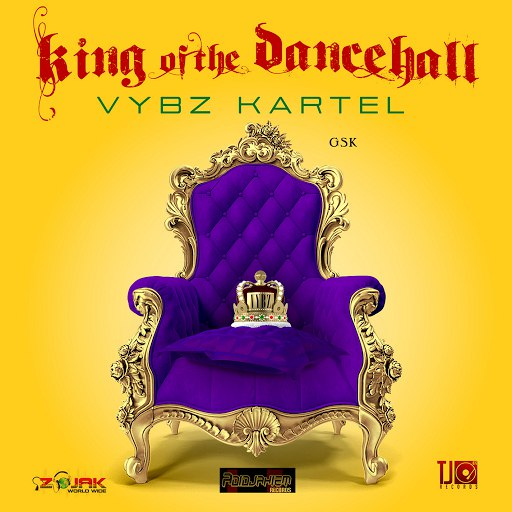 Vybz Kartel альбом King Of The Dancehall
