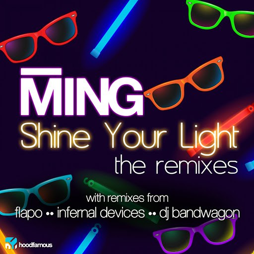 Ming альбом Shine Your Light - The Remixes