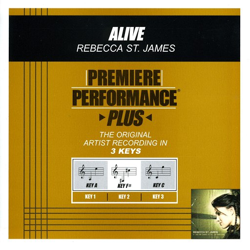 Rebecca St. James альбом Premiere Performance Plus: Alive