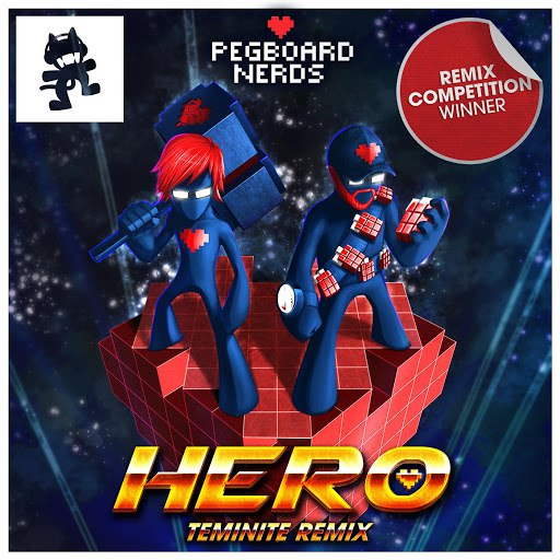 Pegboard Nerds альбом Hero (Teminite Remix) [feat. Elizaveta]