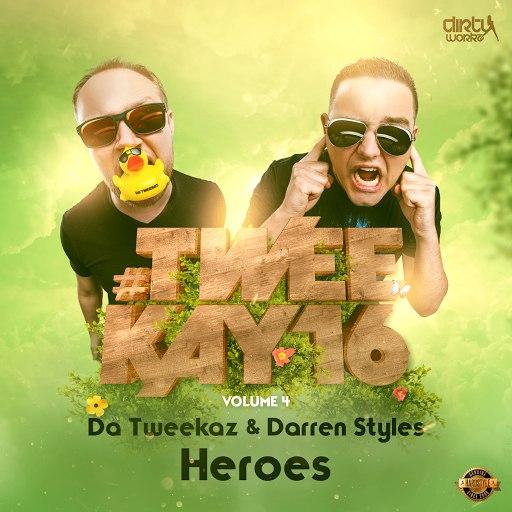 Darren Styles альбом Heroes