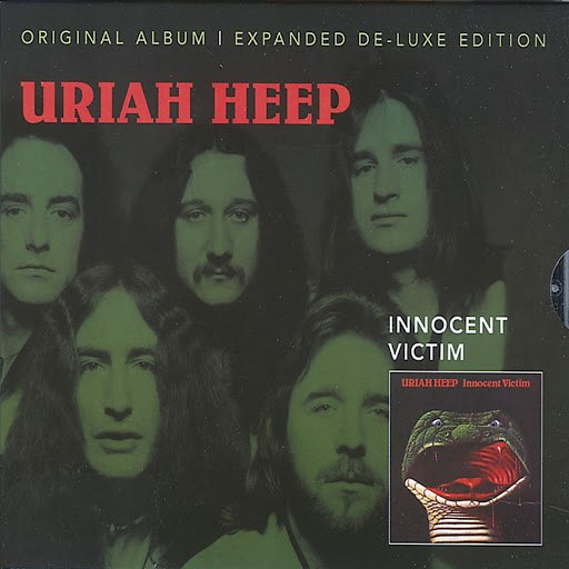 Uriah Heep альбом Innocent Victim (Expanded Deluxe Edition)