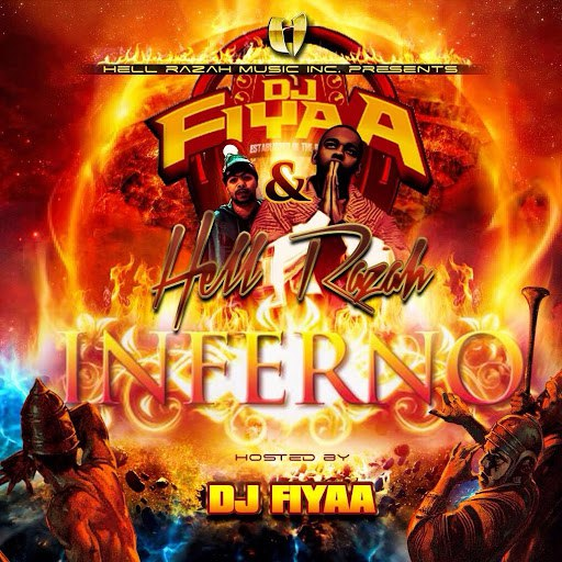 Hell Razah альбом Inferno (Hosted by DJ Fiyaa)