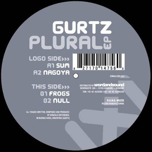 Gurtz альбом Plural EP