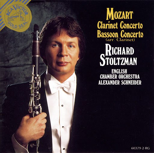 Richard Stoltzman альбом Mozart Clarinet Concerto