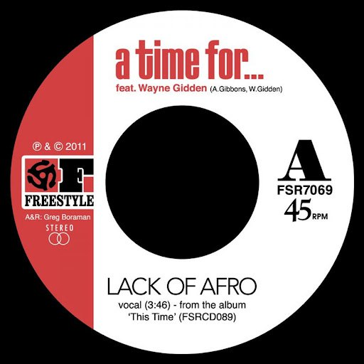 Lack Of Afro альбом A Time For