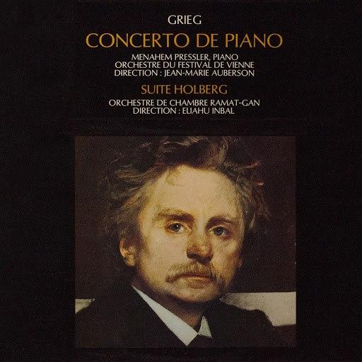 Edvard Grieg альбом Grieg: Concerto pour piano & Suite Holberg